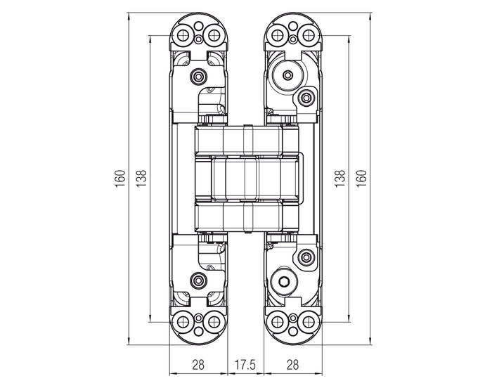 ATOMIKA Karakter | Technical drawing