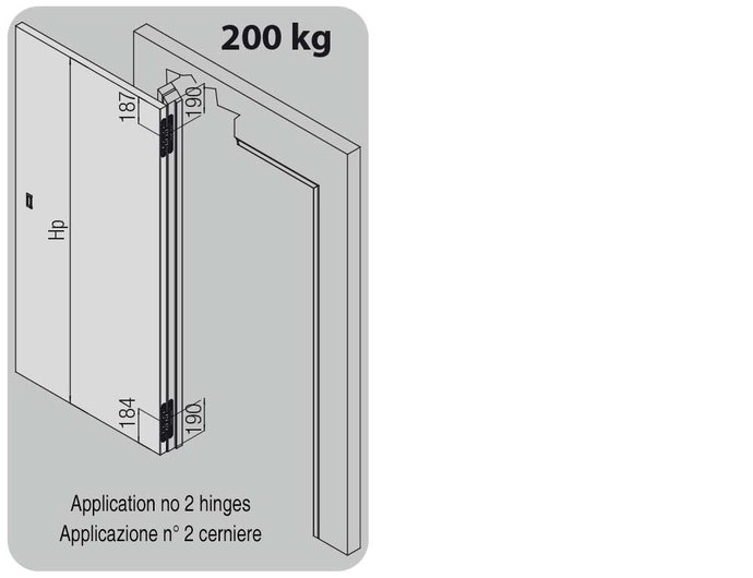 K7200 hinges applications