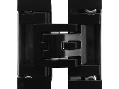 KUBICA Kubicenter K6400 NO | Concealed door hinge in black finish